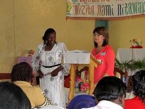 Sharon Teaching